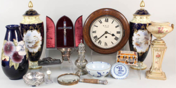Antiques with jewellery, silver and art - 18.01.19