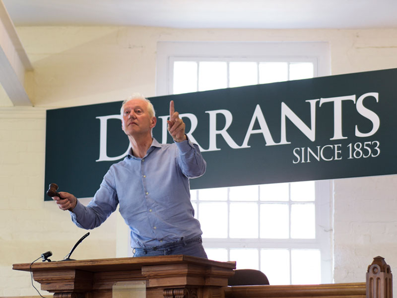 Nick Durrant auctioneer