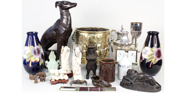 Antiques with Jewellery, Silver and Art