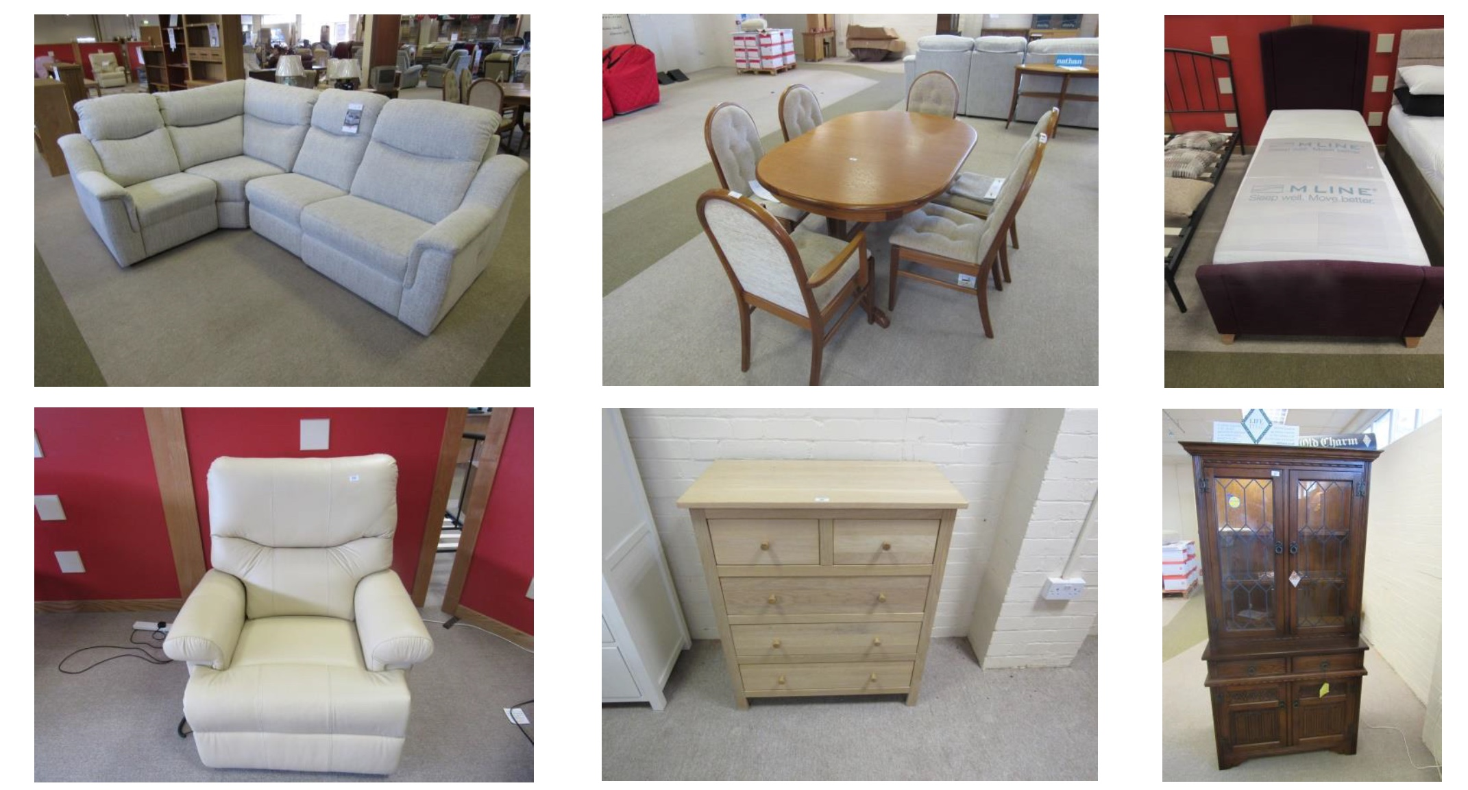 Futters of Great Yarmouth furniture sale