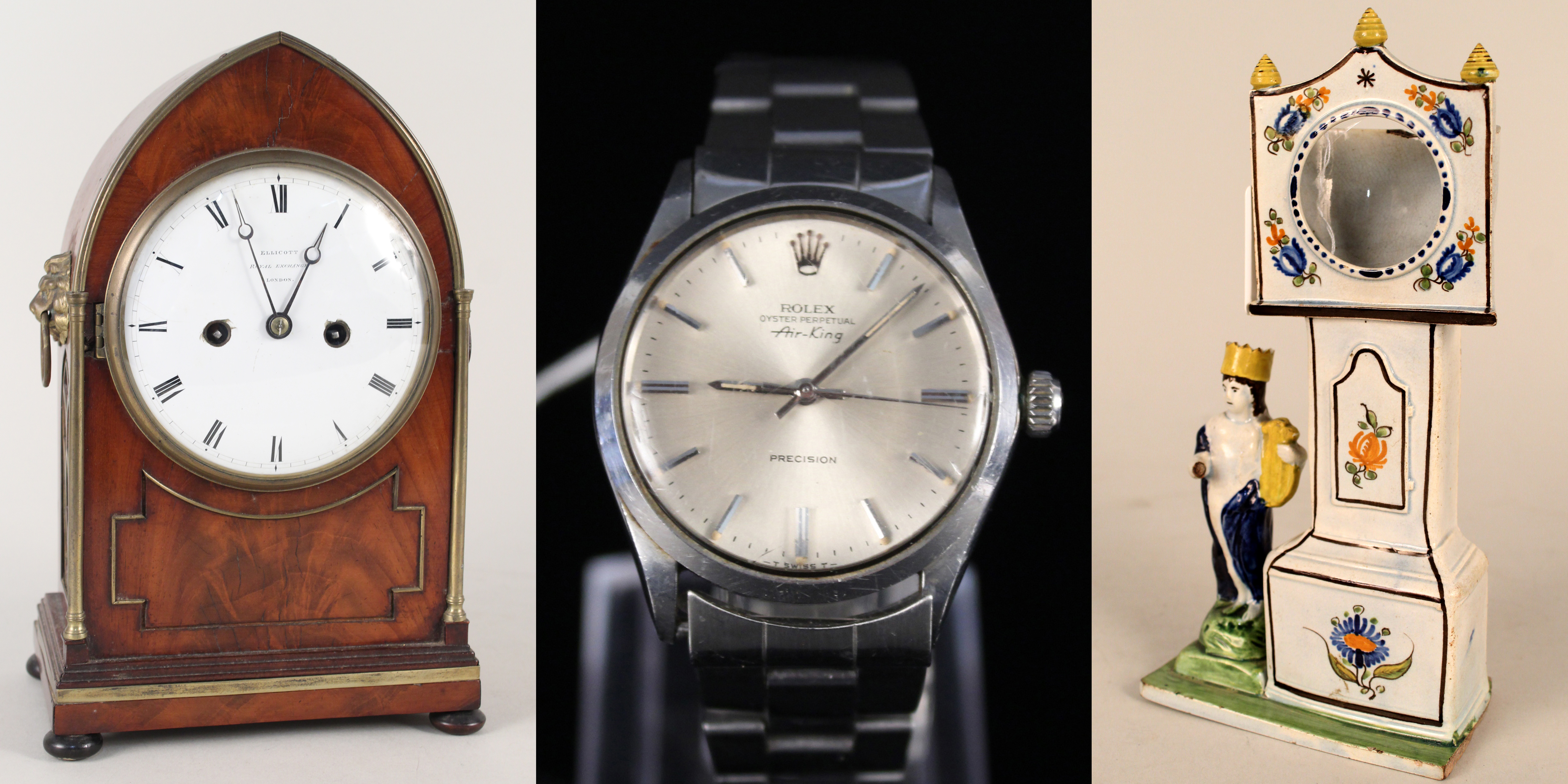 Clocks and Watches including a Private Collection of Pocket Watch Stands